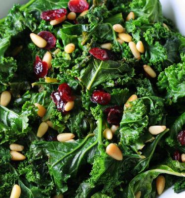 Kale Caesar Salad Juice Bar