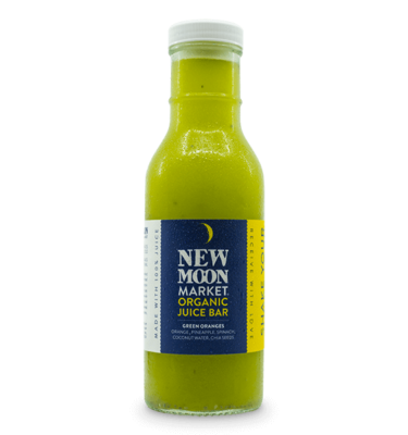 New Moon Market - Green Oranges