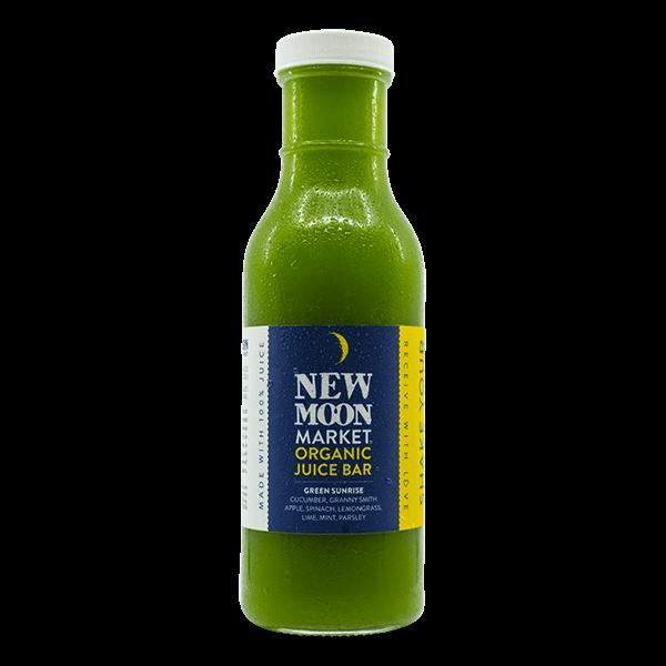 New Moon Market - Green Sunrise