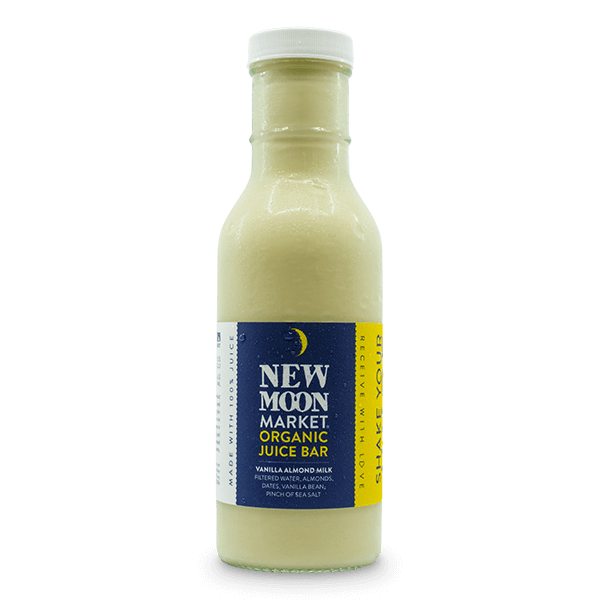 New Moon Market - Vanilla Almond Milk